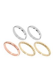 ASOS Mixed Finger Tip Rings