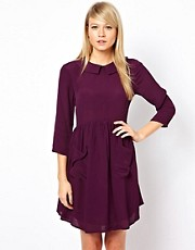 ASOS Smock Dress with Pockets and Collar