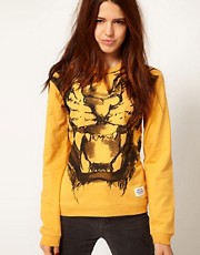 A Question Of &ndash; Tiger &ndash; Sweatshirt aus Bio-Baumwolle