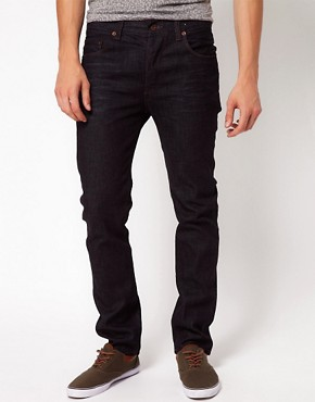 Image 1 ofASOS Slim Fit Jeans With Rinsed Coating