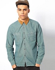 Another Influence Denim Shirt