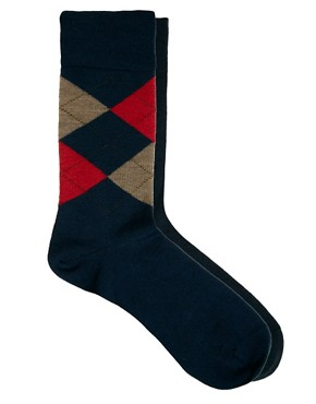 Image 3 ofBurlington Cube 2 Pack Gift Socks