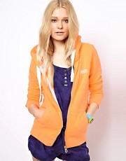 Superdry Orange Label Zip Up Hoodie