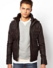 Superdry Brad Leather Jacket