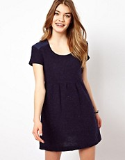 By Zoe Flecked Wool Skater Dress