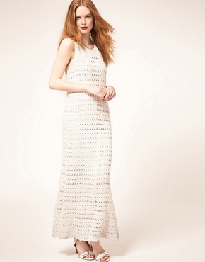 Image 1 ofWhistles Freida Crochet Maxi Dress