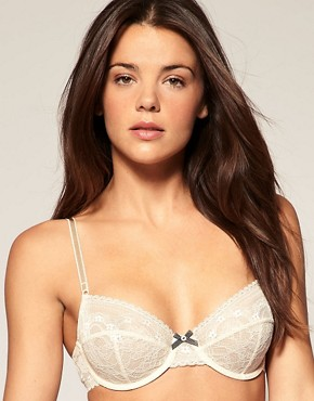 Image 1 ofElle Macpherson Intimates Meet Me At The Metro Underwired Lace Bra