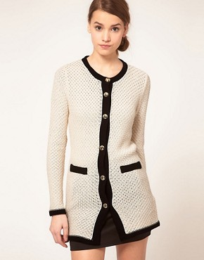 Image 1 ofASOS Long Classic Cardigan