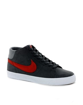 Image 1 ofNike Skateboard Blazer Mid Trainers