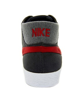 Image 2 ofNike Skateboard Blazer Mid Trainers