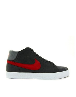 Image 4 ofNike Skateboard Blazer Mid Trainers