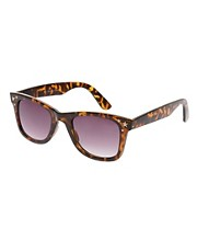 River Island Triple Star Wayfarer Sunglasses