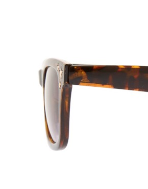 Image 4 ofRiver Island Triple Star Wayfarer Sunglasses