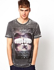 River Island T-Shirt with Epic Fail Print