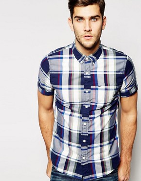 Abercrombie & Fitch Short Sleeve Shirt with Bold Check