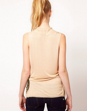 Image 2 ofKookai Fluid Wrap Sleeveless Top