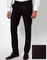 Selected Skinny Fit Tuxedo Suit Trousers