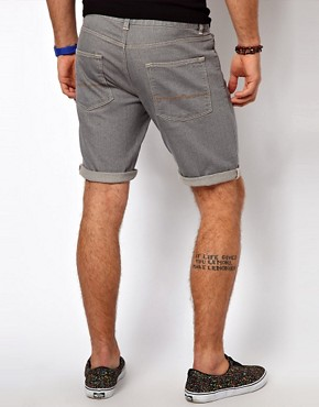 Image 2 ofASOS Denim Shorts In Skinny Fit