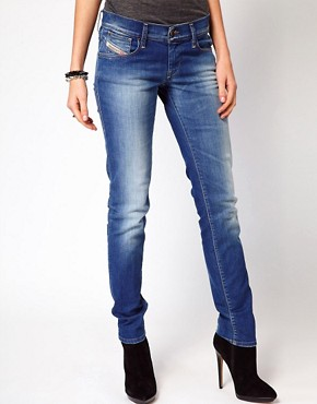 Image 1 ofDiesel Getlegg Skinny Jeans