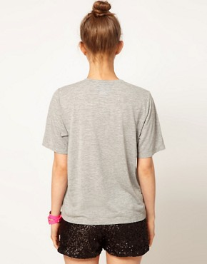 Image 2 ofLulu and Co Ashish &#39;Holy Chic&#39; Beaded Tee
