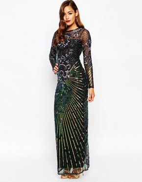 ASOS RED CARPET Dream Catcher Maxi Dress