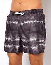 ASOS  Badeshorts mit Batikmuster