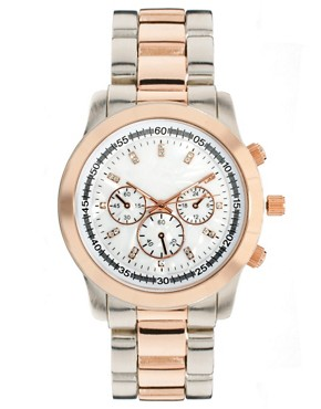 Image 1 ofRiver Island Large Boyfriend Watch