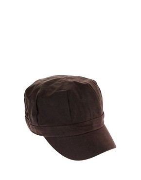Image 2 of Barbour Wax Baker Boy Hat