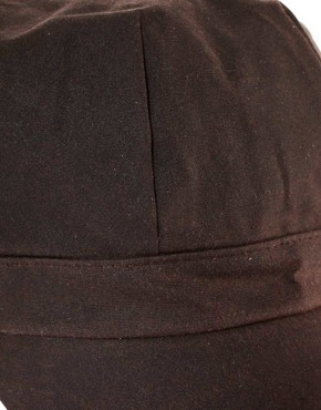 Image 3 of Barbour Wax Baker Boy Hat