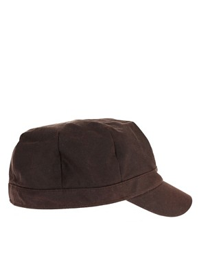 Image 4 of Barbour Wax Baker Boy Hat