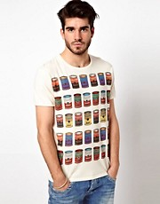 Pepe Jeans Andy Warhol T-Shirt Multi Campbells Soup Print