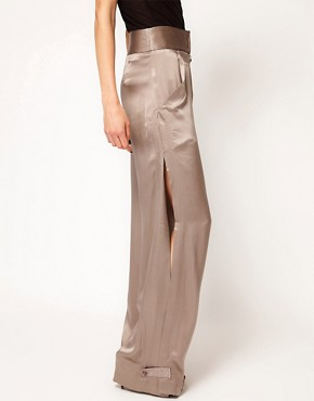 Image 4 ofKore by Sophia Kokosalaki Wide Silk Trouser