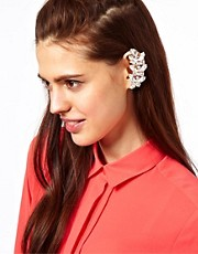 ASOS Vine Earcuff with Swarovski Stones