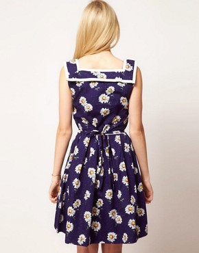 Image 2 ofTrollied Dolly Vintage Daisy Dress