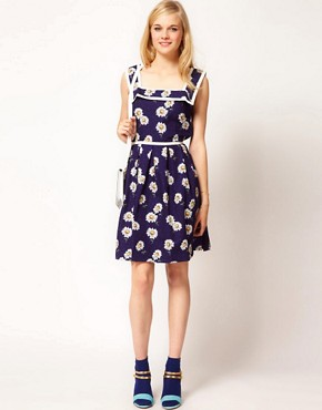 Image 4 ofTrollied Dolly Vintage Daisy Dress