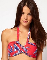 Seafolly Tropical Beat Bandeau Bikini Top
