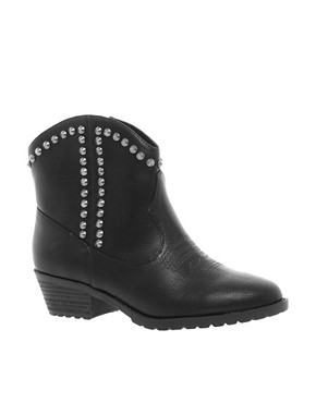 Image 1 ofRiver Island Studded Western Boots