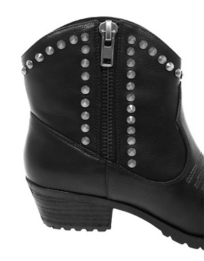 Image 2 ofRiver Island Studded Western Boots