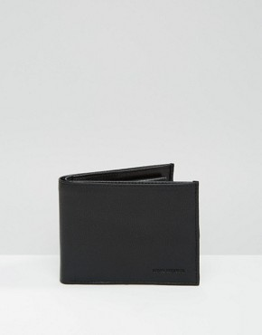 Royal RepubliQ Fuze Leather Wallet In Black
