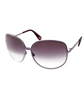 Image 1 ofDVF Detailed Arm Square Sunglasses