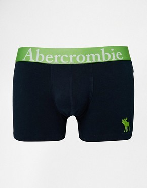 Abercrombie & Fitch Trunks with Moose Embroidery