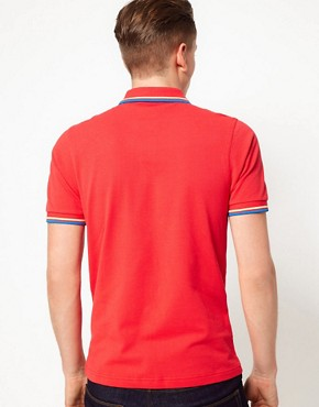 Image 2 ofFred Perry Slim Polo with Fit Twin Tip