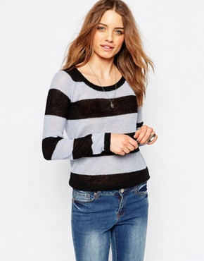 Maison Scotch Stripe Jumper