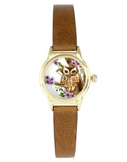 River Island Helen Owl Face Watch