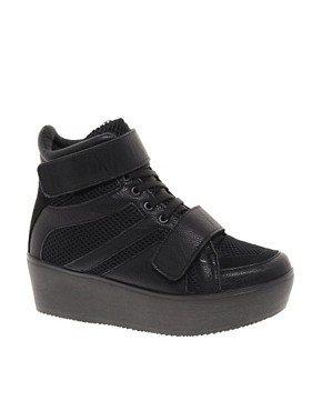 Image 1 ofRiver Island Space Flatform Boots
