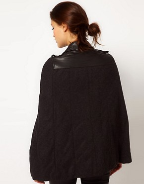 Image 2 ofMuubaa Parma Cape Leather Jacket