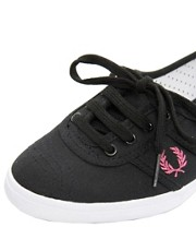 Fred Perry Aubrey Canvas Trainers