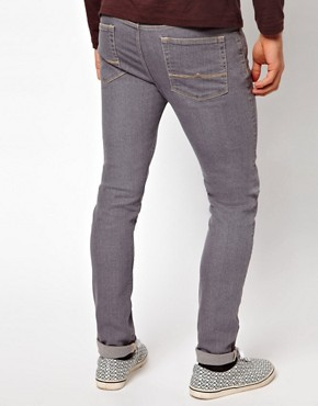 Image 2 ofASOS Skinny Jeans In Grey