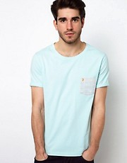 Farah Vintage T-Shirt with Contrast Pocket