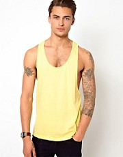 ASOS Vest With Extreme Racer Back